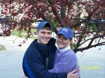 Jared Kendrick & Mom (Beth Crum Sherrow) on the morning he left for the Air Force!