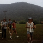 Paul Cravens (class of 1975) at Morehead band camp